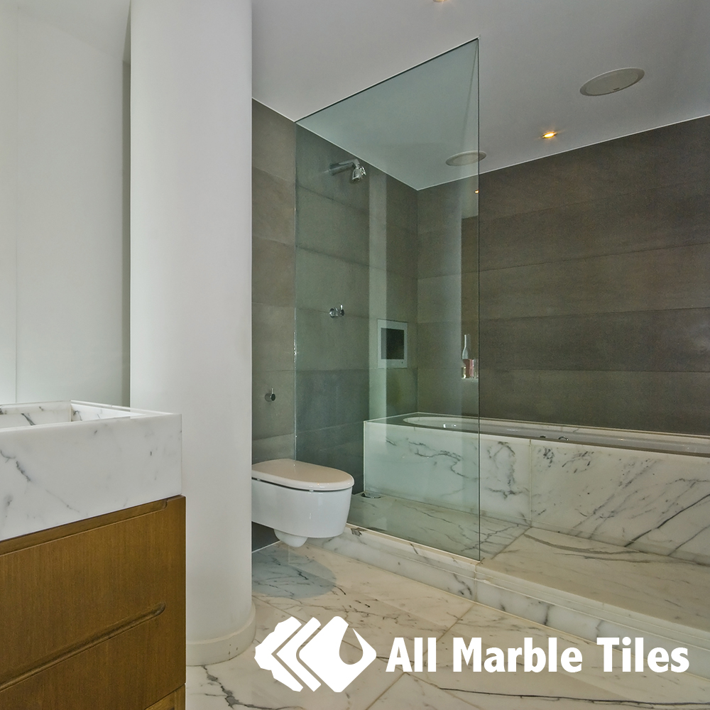 Carrara Marble Tiles and Mosaic