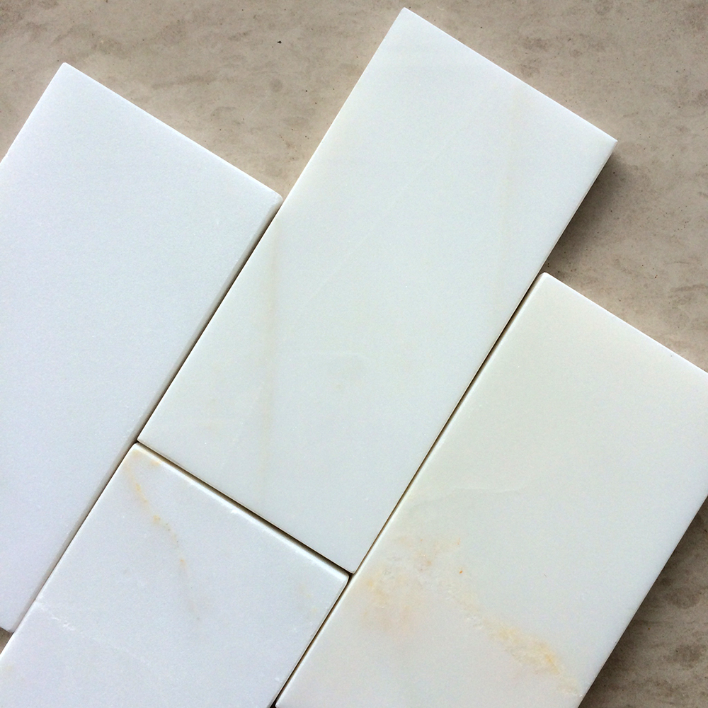Calacatta Golden Marble 3x6 Polished Tile