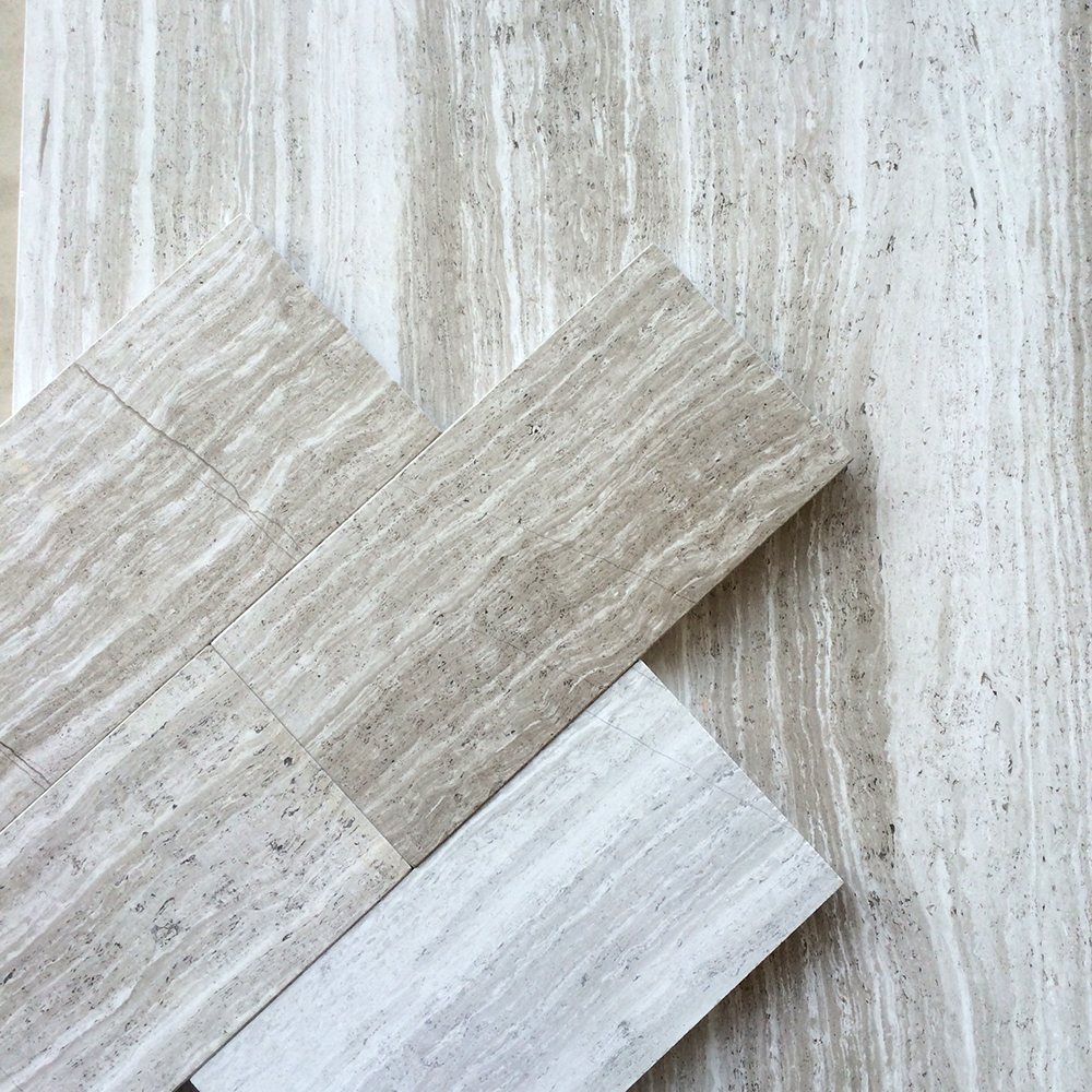 Timber White Marble 3x6 Subway Tile